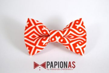 Papion Tribal white&red